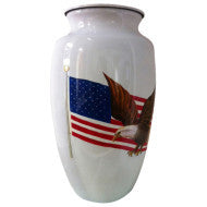 American Patriot Adult Urn