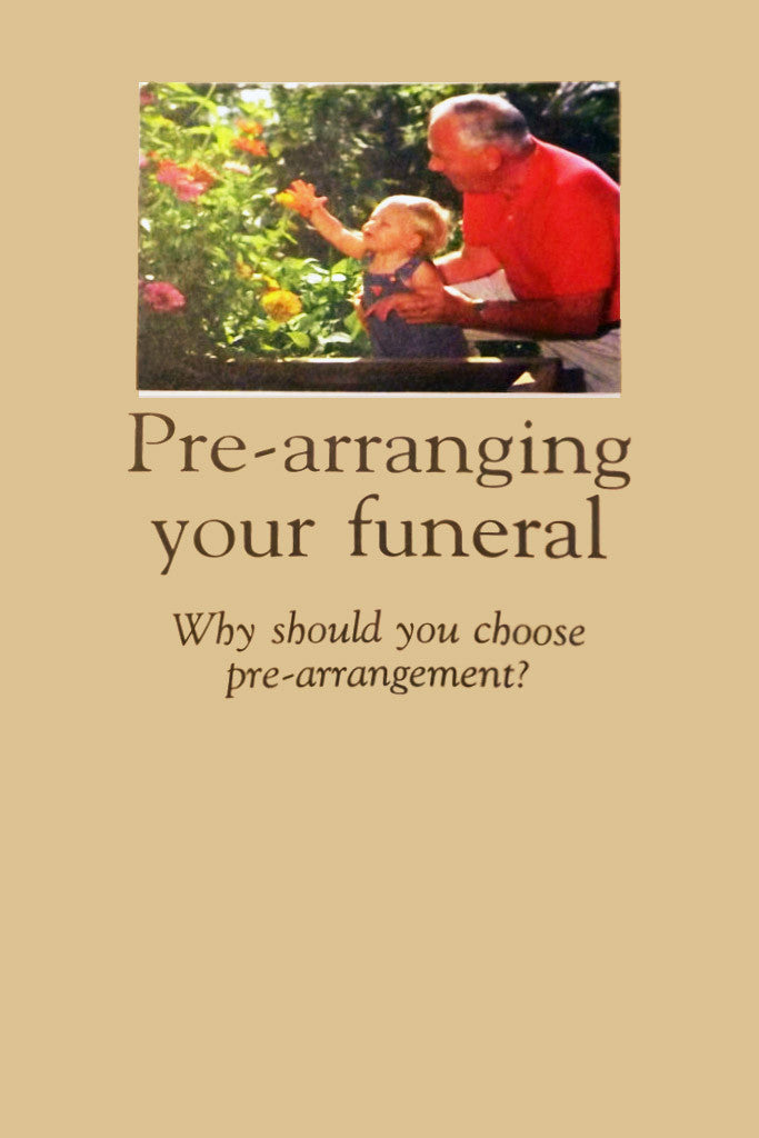Pre-arranging your funeral