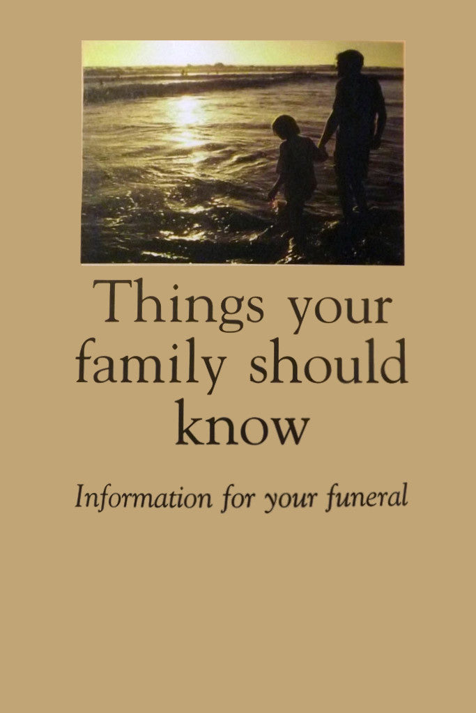 Things your family should know