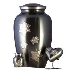 Falling Leaves urn set