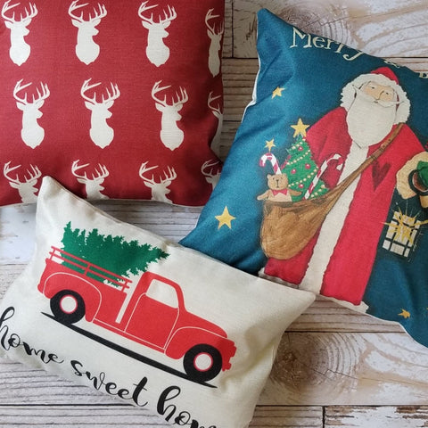 Christmas Pillow Covers | Many Styles
