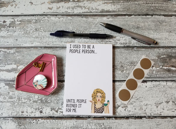 Funny Women Notepads