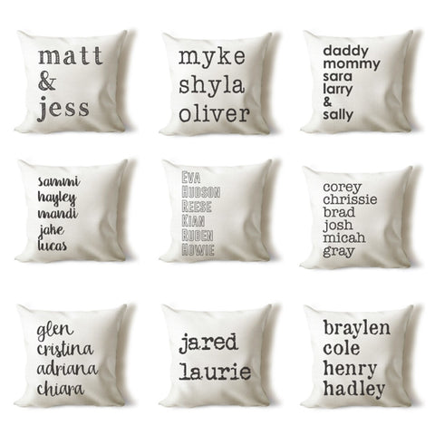 Farmhouse Personalized Name Covers - Lots Of Styles!