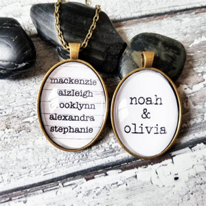 Personalized Special Names Necklaces