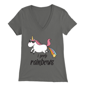 Women's Unicorn I Poop Rainbows T-Shirt