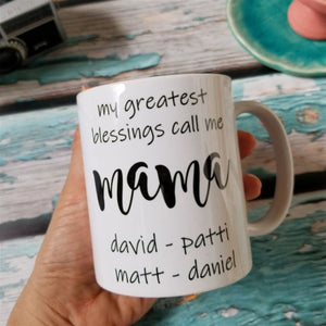 Special Names Personalized Mugs
