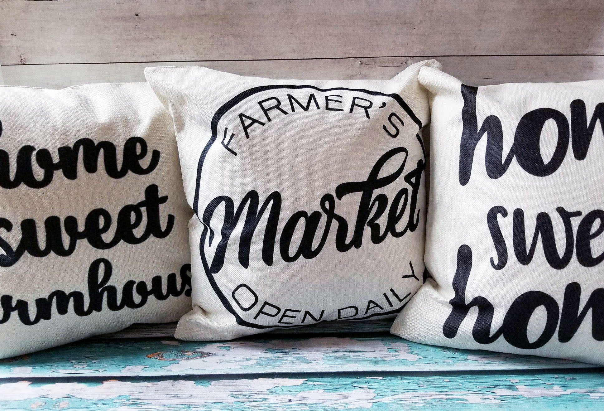 Farmhouse  Love Style Pillow Covers