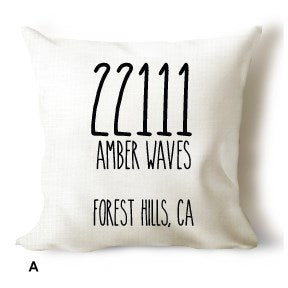 Personalized Home Sweet Home Covers