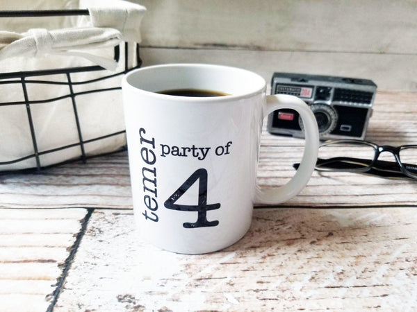Personalized Party Of Mugs