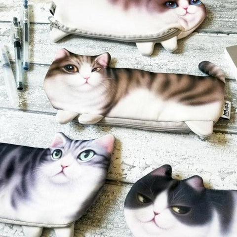 The Cat's Meow Pencil Cases