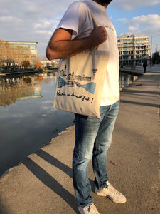 "Tote Bag ""Pantin is beautiful"""