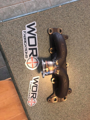 Modified OEM Manifold