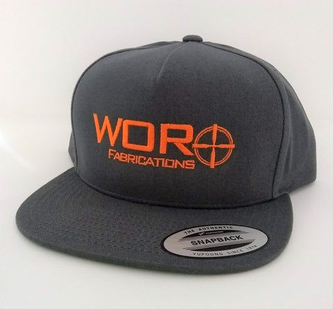 WOR Fabrications Snapback Hat