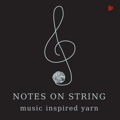 Notes on String - Music Inspired Yarn by Augustbird