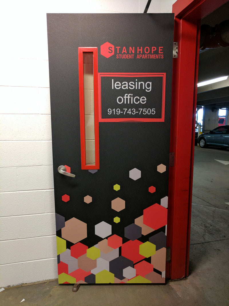 Door Wraps - Door Decals