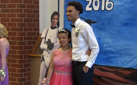 Beautiful Destiny gets her Dream Date to Special Needs Prom