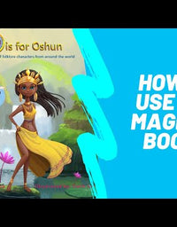 O is for Oshun- Autographed  Book