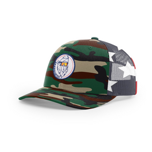 Saxsquatch Trucker Hat - Camo