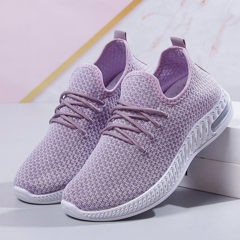 Women Soft Sole Breathable Lightweight Sneakers Walking Shoes