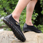 Men's Mesh Breathable Casual Hand-sewn Shoes Leisure Water Shoes