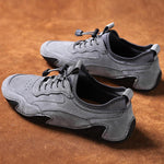 Men's Genuien Leather Non Slip Soft Sole Casual Driving Shoes