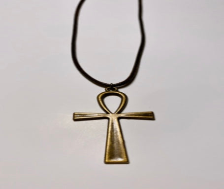 Bronze Ankh Necklace