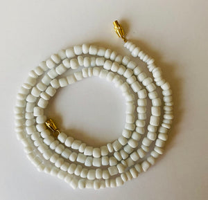 Clarity White Goddess Waist Beads