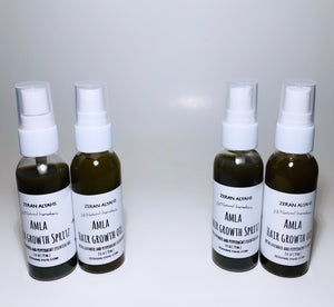 Amla Hair Growth Oil and Spritz with Lavender and Peppermint Essential Oil Set