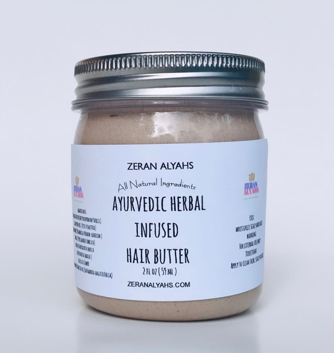 Ayurvedic Herbal Hair Moisturizing Butter