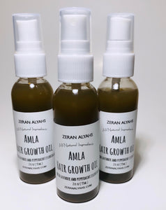 Amla Hair Growth Oil with Lavender and Peppermint Essential Oil
