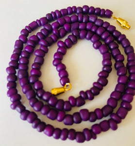 Crown Purple Goddess Waist Beads