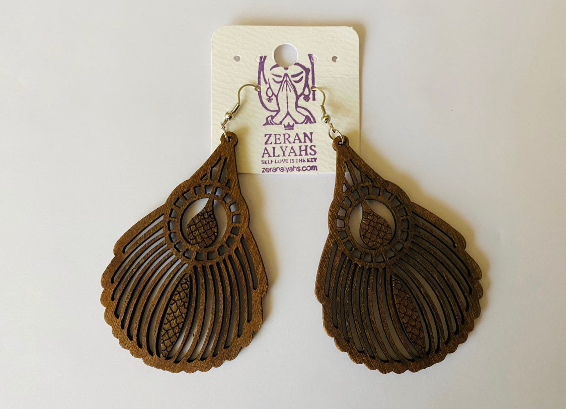 Beautiful Wooden Earrings