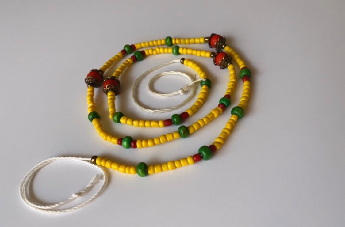 Guinea inspired Waist Beads