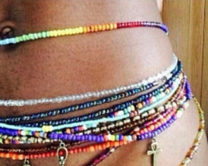 10 Pcs Set Custom Goddess Waist Beads