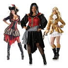 Womens pirate costumes