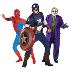 Mens Hero & Villain Costume Collection