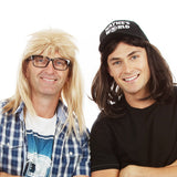 Buy Waynes World Garth Algar Wig Set Blond