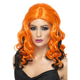 Wicked Witch Wig Orange and Black