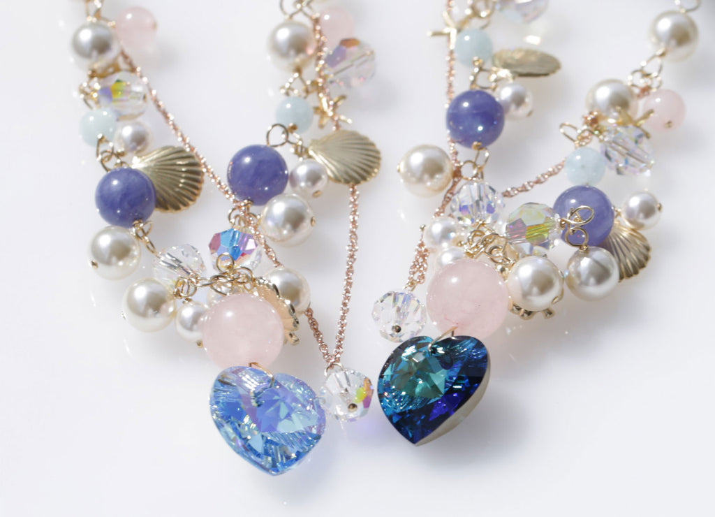 Sacred marriage Mermaid necklace Light Blue☆聖なる結婚☆マーメイドネックレス☆ライトブルー