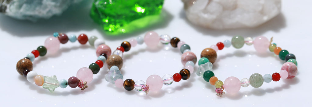Twin ray(flame) Bracelet☆ツインレイのブレスレット