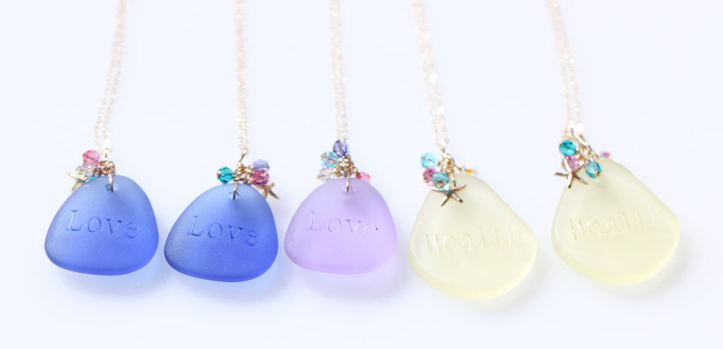 Love Pure Mermaid necklace Yellow4☆ラブピュアマーメイドネックレス☆黄色4