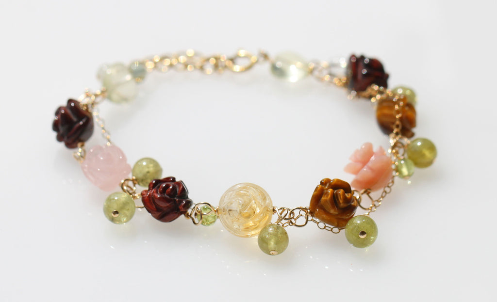 Be Luck in money and Love Fairy bracelet ☆金運と恋愛運を高めるきらきらフェアリーブレスレット