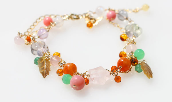 Be luck in money and Love Fairy bracelet2☆金運と恋愛運を高める☆キラキラフェアリーブレスレット2