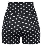 High Waisted Polka Dot Shorts