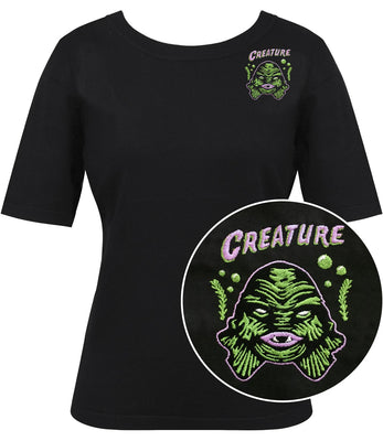 Creature Babe Pullover Sweater Top