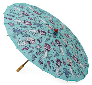 Molly Mermaid Parasol Collab with Miss Fluff