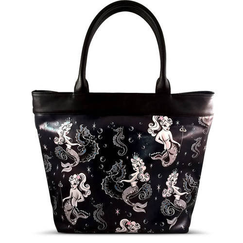 Pearla Mermaid Tote Bag by Fluff