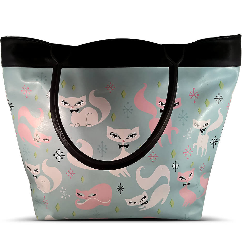 Swanky Kittens Tote Bag by Fluff