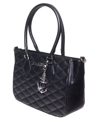 Hold Fast Tote in Black Matte (Large) by Lux De Ville