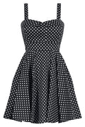 Polka Dot Sweetie Dress in Black